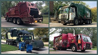 Christmas Special: Red & Green Garbage Trucks