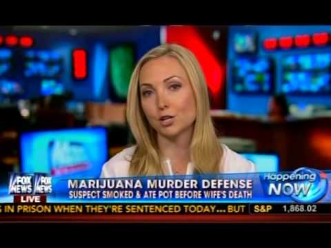Criminal Defense Attorney Diana Aizman discussing an edible marijuana defefense to murder on Fox News.