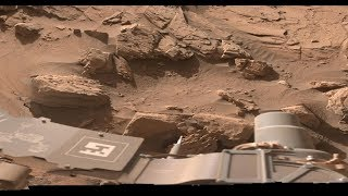 Puddle Of Water Found Next To The Curiosity Rover! ~ 11/24/2018