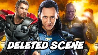 Avengers Infinity War Deleted Scene - Thor and Loki Alternate Ending Explained