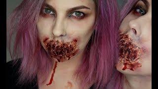 GetTheLouk - Zombie bez pusy! Halloween Makeup Tutorial - Zdroj: