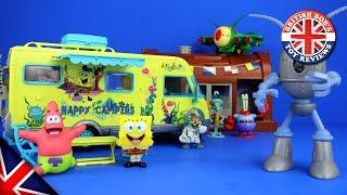 Spongebob Squarepants Campervan Playset Episode with Peppa Pig & The Oddbods