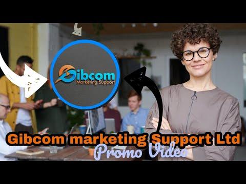 Gibcom Marketing Support Ltd Promo video
