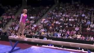 Nastia Liukin vs. Shawn Johnson (4) : 2008 Visa Championships