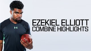 Ezekiel Elliott (Ohio State, RB) | 2016 NFL Combine Highlights