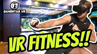 VIRTUAL REALITY GAMES TO KEEP IN SHAPE!!