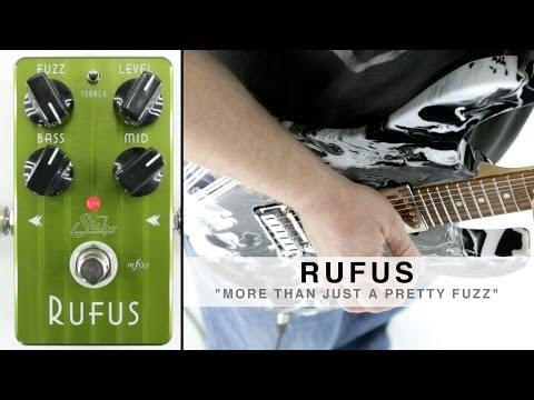 SUHR RUFUS™ - MORE THAN JUST A PRETTY FUZZ