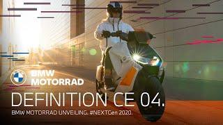 Scooter électrique BMW CE 04 : présentation officielle