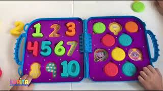 Learn Colors Shapes and Numbers with Little Tikes 3 in 1 | Educational Video