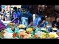 Hard Working Man Selling Best Street Food @ Hyderabad    Veg 50,Non Veg 70 Rs    Amazing Food Zone