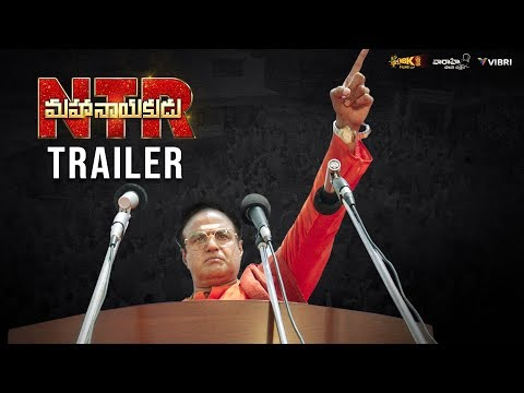 #NTRMahanayakudu Official Trailer