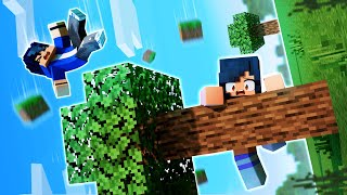 Minecraft AND THE WORLD IS SIDEWAYS!