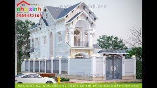 Nhà Phố Kiểu Biệt Thự Có Sân Vườn | Anh Nam | Nhà Xinh ®