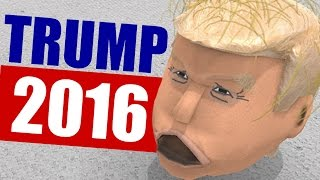 TRUMP FOR PRESIDENT - Random Games