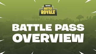 Fortnite - Battle Royale: Battle Pass Overview