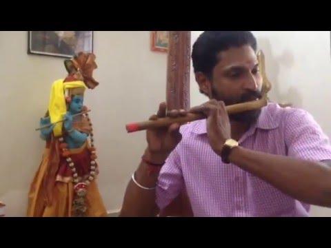Neeraaduvaan Nilayil Neeraaduvaan: on flute by Kottayam TS Ajith