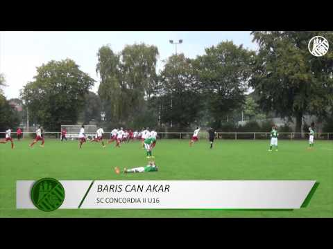Tor von Baris Can Akar (SC Concordia II, U16 B-Jugend) | ELBKICK.TV