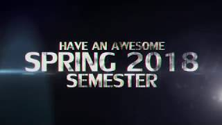 'Spring 2018 Semester - Movie Trailer (epic)