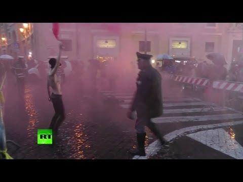 Femen vs Pope