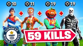 We Got The Fortnite Elimination *WORLD* Record (59)