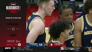 Michigan at Wisconsin - College Basketball Jan 19, 2019