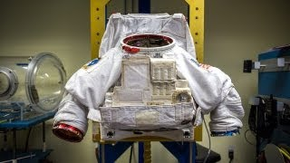 How Astronauts Put on Space Suits