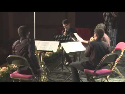 Cuarteto de Saxofones Êgaré Oblivion de Astor Piazzolla