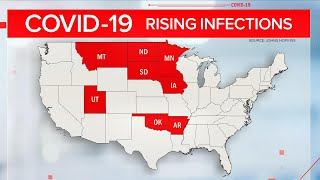 Nationwide COVID-19 cases on the rise as second wave emerges