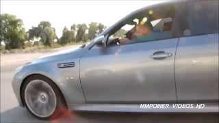 Mercedes-Benz C63 AMG vs BMW E60 M5 Rolling ᴴᴰ