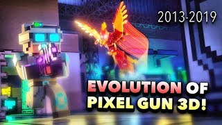 The EVOLUTION of Pixel Gun 3D... (2013-2019)
