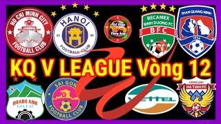 💥Tổng hợp Kết quả V League 2020 Vòng 12 🔥 Ket qua V League chieu nay ♦ Ket qua bong da hom nay TGT