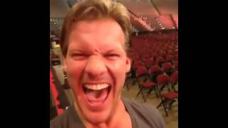 WWE Raw Stage Set On Fire