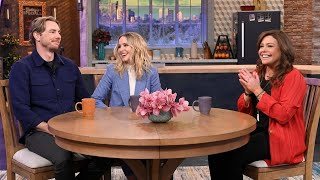 Kristen Bell + Dax Shepard On Frozen 2, Veronica Mars Reboot & Bless This Mess