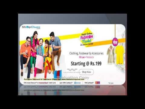 Apki Online Fashion Market Sale Starting @ Rs. 199