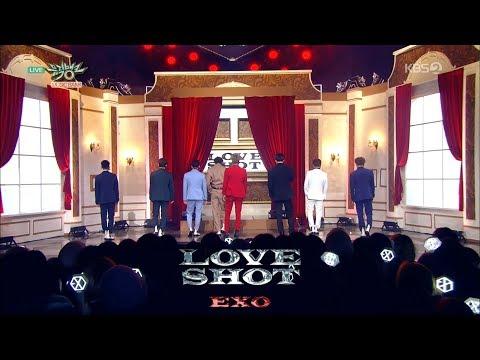 EXO (엑소) - Love Shot Stage Mix 무대모음 교차편집