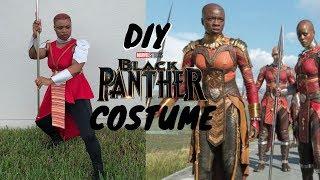 DIY Halloween Costume 2018    Black Panther Dora Milaje   NeesieDoesiT
