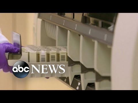 Inside a COVID-19 testing lab to check on Trump's prediction for increased output l ABC News