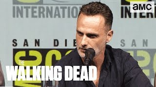 The Walking Dead: 'Andrew Lincoln on His Final Season' Comic-Con 2018 Panel Highlights