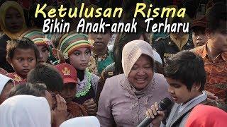 "Momen Haru Risma, Bikin Nangis... ""Bunda""nya Anak-anak Surabaya"