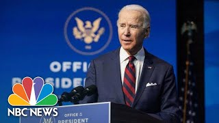 Biden Delivers Remarks On Public Health And The Economy   NBC News