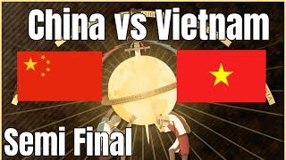 2v2 World Cup Semi | China vs Vietnam