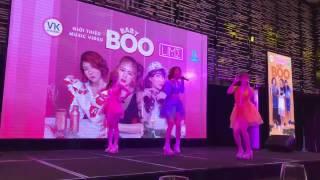 [FanCam] Họp báo ra mắt MV BabyBoo
