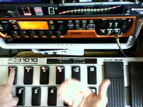 FCB1010 Eleven rack programmation behringer 004_wha_on_off.wmv