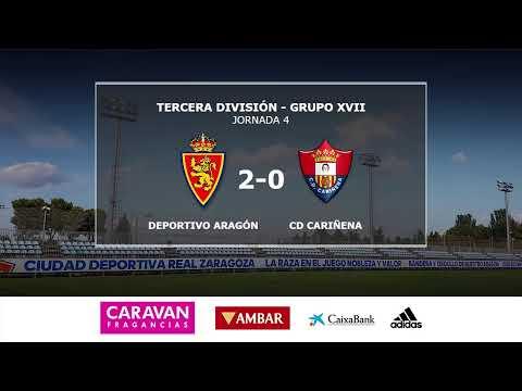 (Partido Completo) D ARAGON 2-0 CD CARIÑENA / J 4 / 3ª División