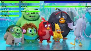 The Angry Birds Movie 2 (2019) Final Battle with healthbars 1/4 (Thanksgiving Day Special)