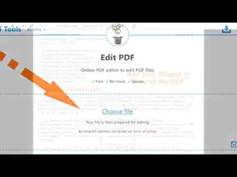 How to Write on PDF Documents Using the PDF24 Online