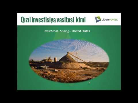 Onlayn Web Seminar - Qızıl investisiya vasitəsi kimi