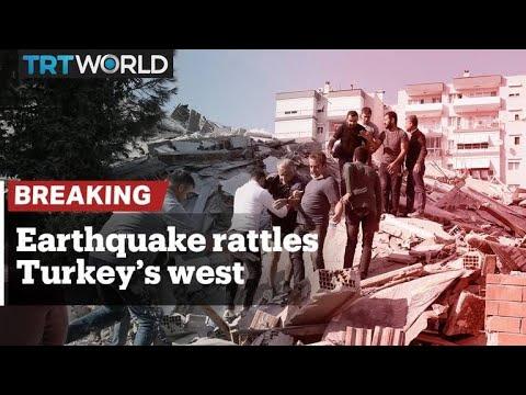 Large earthquake hits Turkey