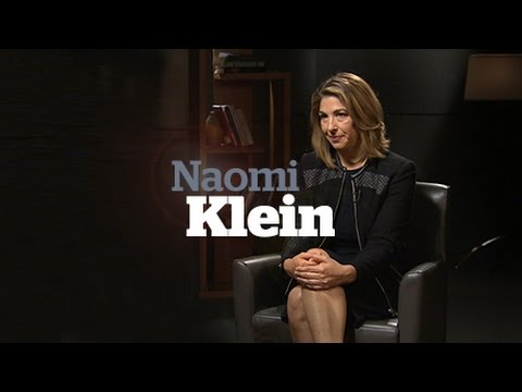 Naomi Klein: This Changes Everything author talks about climate change