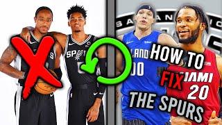 How To Fix The San Antonio Spurs
